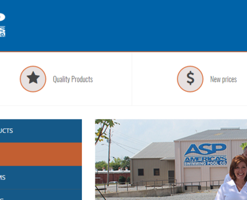 E-commerce Site for America's Swimming Pool Company